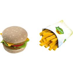 Hamburger & patatine