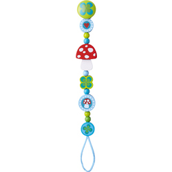 Pacifier chain Lucky Charm