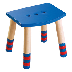 Puck's Stool, blue