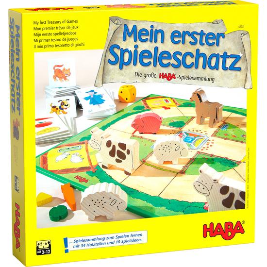 Mi Primer Tesoro De Juegos La Gran Coleccion De Juegos De Haba