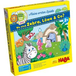 Meine ersten Spiele – Wo sind Zebra, Löwe & Co?