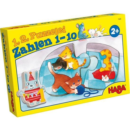 1 2 Puzzlealos Numeros Del 1 Al 10 Puzzles Para Ninos Juegos