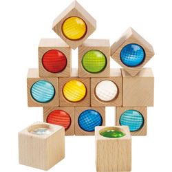 Kaleidoscopic blocks