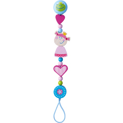 Pacifier Chain Heart Princess