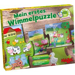 """Mon premier puzzle """"extensible"""" – La ferme"""