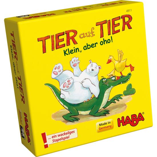 Haba Lernspiel Tier auf Tier
