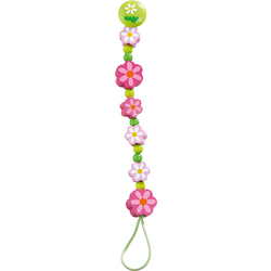 Pacifier chain Summer Flowers