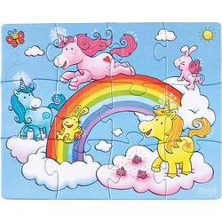 Puzzles Licornes dans les nuages