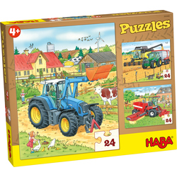 Puzzels Tractor & co.