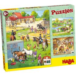 Puzzles Le centre équestre