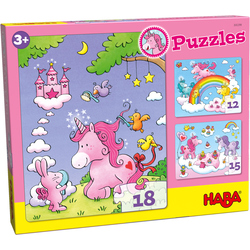 Puzzles Einhorn Glitzerglück