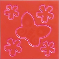 Set adesivi catarifrangenti per bambini Farfalla