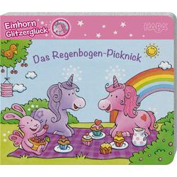 Livre en allemand : Einhorn Glitzerglück – Das Regenbogen-Picknick