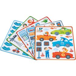 Magnetic game box Zippy Cars