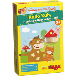 Meine ersten Spiele – Hallo Kuh, in welchem Haus wohnst du?
