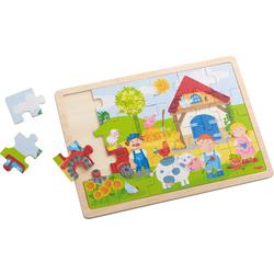Puzzle en bois La ferme d'Antoine