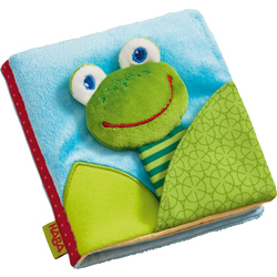 Fabric book Magic frog