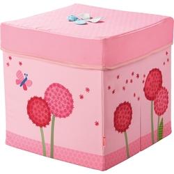 Cube siège Fleurs magiques
