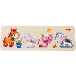 Clutching Puzzle Baby farm animals