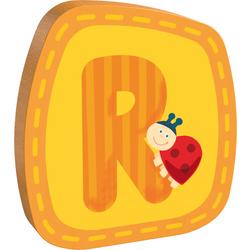 Lettera in legno R