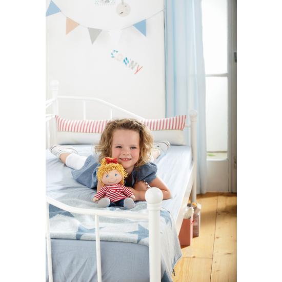 puppe conni stoffpuppen puppen puppenzubeh r spielzeug haba erfinder f r kinder. Black Bedroom Furniture Sets. Home Design Ideas
