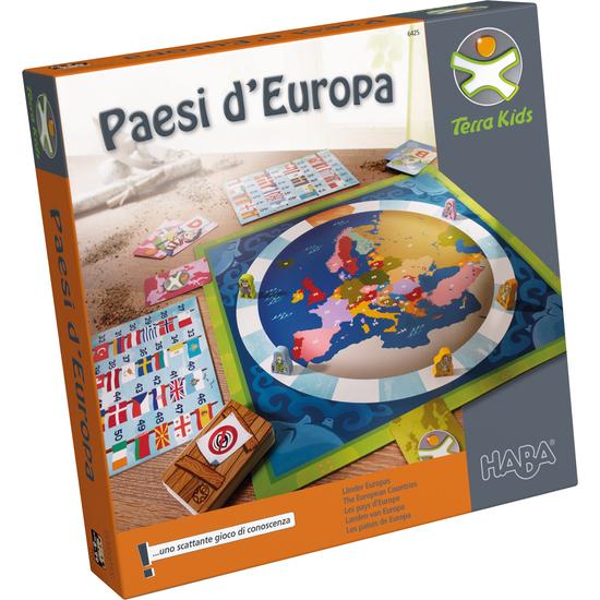 Terra Kids Paesi Deuropa Haba Inventori Per Bambini