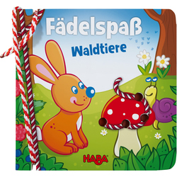 Threading book - Fädelspaß Waldtiere HABA 303196
