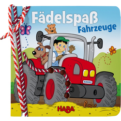 Threading book - Fädelspaß Fahrzeuge HABA 303197