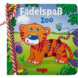 Threading book - Fädelspaß Zoo HABA 303199