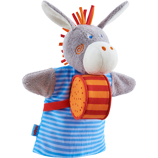 Musical puppet Donkey | Sound and music toys | Wooden toys