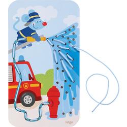 Rijgkaart Brandweer in actie
