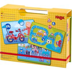 Boîte de jeu magnétique Sur la route