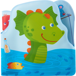 Bath book Water dragon Fridolin