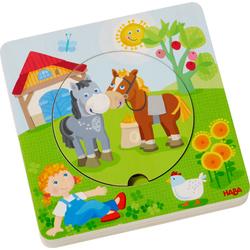 Puzzle en bois Monde de la ferme