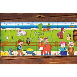 Mein erstes Wimmelpuzzle – Ponyhof