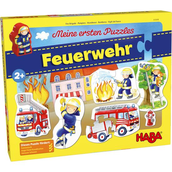 Bildergebnis für HABA 303698 - Meine ersten Puzzles – Feuerwehr