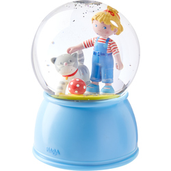 LED Night light and Glitter globe Connie