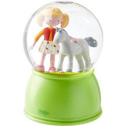 LED Night light and Glitter globe Pony paradise