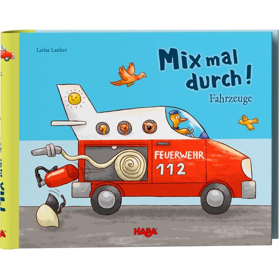 Mix Mal Durch Fahrzeuge Spielbucher Kinderbucher Spiele