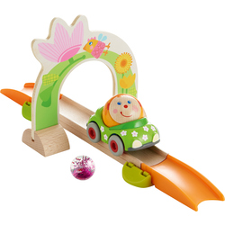 Kullerbü – Spielspaß-Set Themenset Blumenzauber & Effektkugel Pink-Glitzer