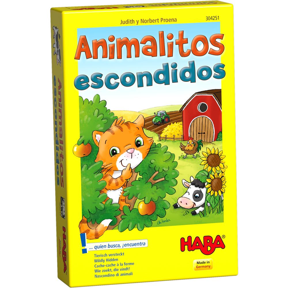 animalitos escondidos juego de mesa
