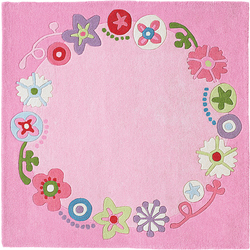 Tapis Couronne fleurie