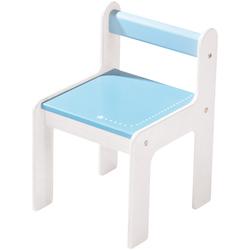 Chaise d'enfant puncto rose