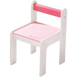 Kinderstuhl puncto rosa