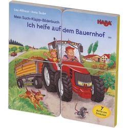 Mein Such-Klapp-Bilderbuch – Ich helfe auf dem Bauernhof